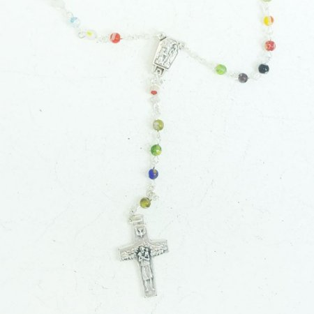 Terço Missanga Relíquia De Lourdes 4mm