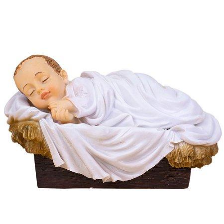 Menino Jesus com Manjedoura 12 CM