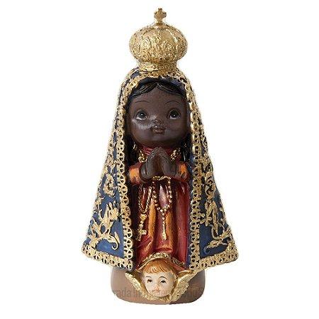 Nossa Senhora Aparecida 10 cm - Infantil
