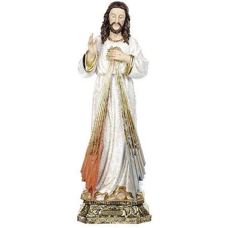 Jesus Misericordioso 60 CM - Estilo Barroco