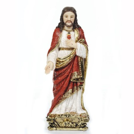 Sagrado Coração de Jesus 30 CM - Estilo Barroco
