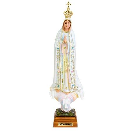 Nossa Senhora de Fátima Pintada 35 CM - Portugal