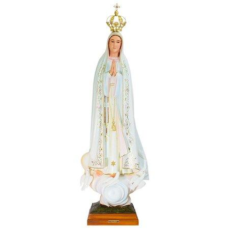 Nossa Senhora de Fátima Pintada 100 CM - Portugal