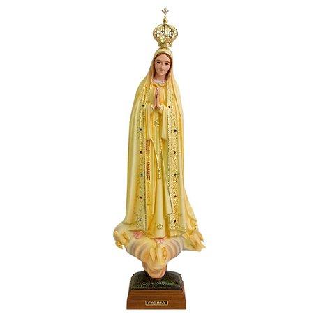 Nossa Senhora de Fátima Patinada 45 CM - Portugal