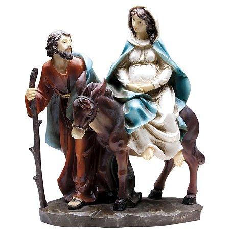 Nossa Senhora do Desterro Grávida 10 CM