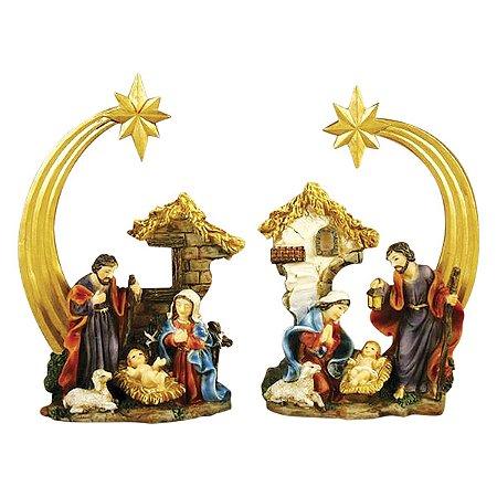 Adorno Sagrada Família 9 CM