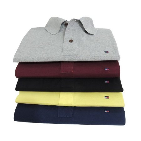 b76efe01437 KIT 5 CAMISAS POLO TH - DS Moda