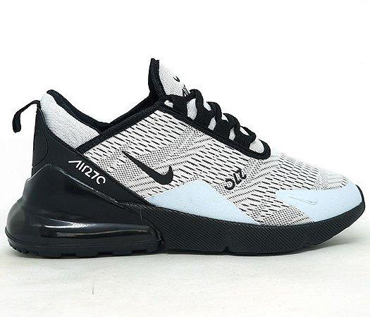 4ac6b632bd896 Tênis Nike Air Max 270 Bege e Preto - TGfeshion