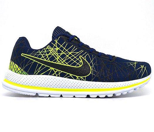 Tênis Nike Air Zoom Vomero 13 Marinho e Verde