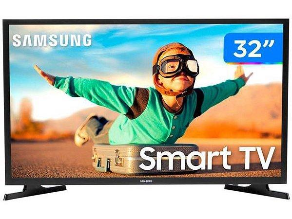 """Smart TV HD LED 32"""" Samsung 32T4300A - Wi-Fi HDR 2 HDMI 1 USB"""