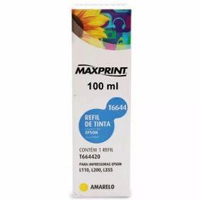 Refil de Tinta Maxprint Compatível/ No. TO63 - MAXPRINT - TO63420 - Amarelo