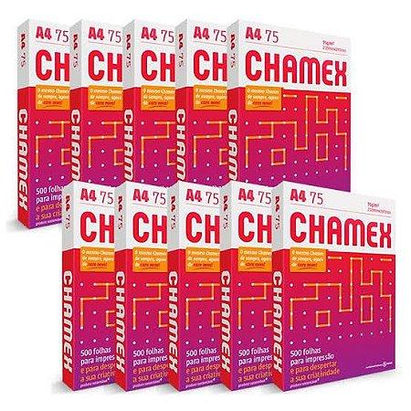 Papel A4 Chamex Office 75g Com 500 Fls