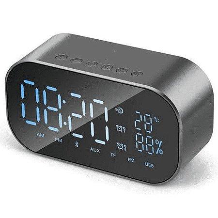 Rádio Relógio Digital Bluetooth CLOCK-01 Hoopson