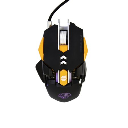 Mouse Gamer Thundertank 6200 Dpi