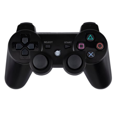 Controle Dual Shock 6Axis Bluetooth - Ps3 Preto