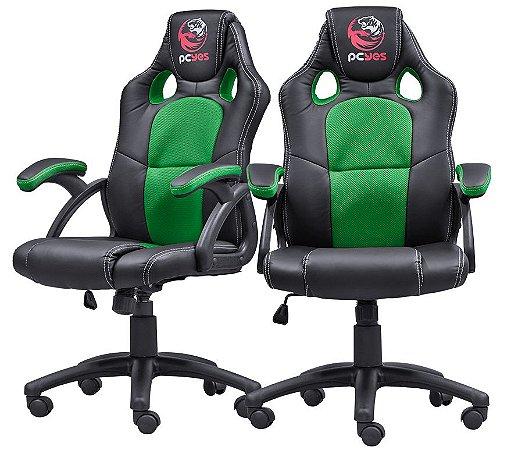 Cadeira Gamer Mad Racer V6 - Verde