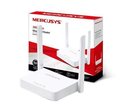 Roteador Mercusys Wireless 300Mbps Antenas