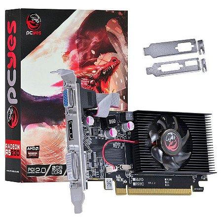Placa de Video Amd Radeon R5 230 2GB DDR3 64 Bits