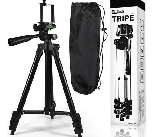 Suporte Tripé Universal Para Celular e Câmera Com Nível 1,02 mts - Mb tech