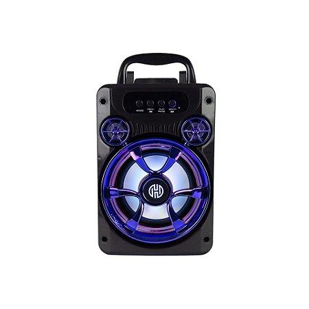 Caixa de Som Bluetooth 50W SD USB FM Aux RBM-010A Hoopson