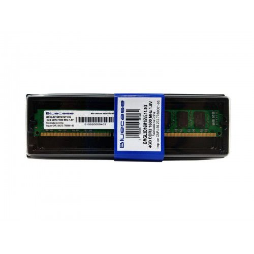 MEMORIA BLUECASE 4GB DDR3-1600 UDIMM BMGL3D16M15VE11/4G