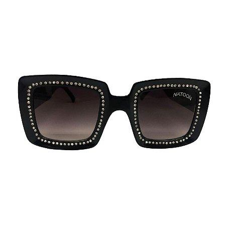 Óculos de Sol Unissex com Strass