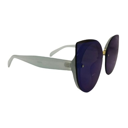 Óculos de Sol Unissex Espelhado Azul
