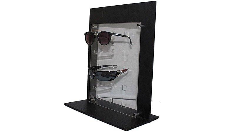 Expositor de Madeira para Óculos 5 Lugares VT01