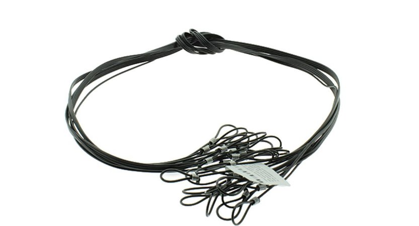 Cordão PVC Cristal Para Óculos FC - 12 unidades