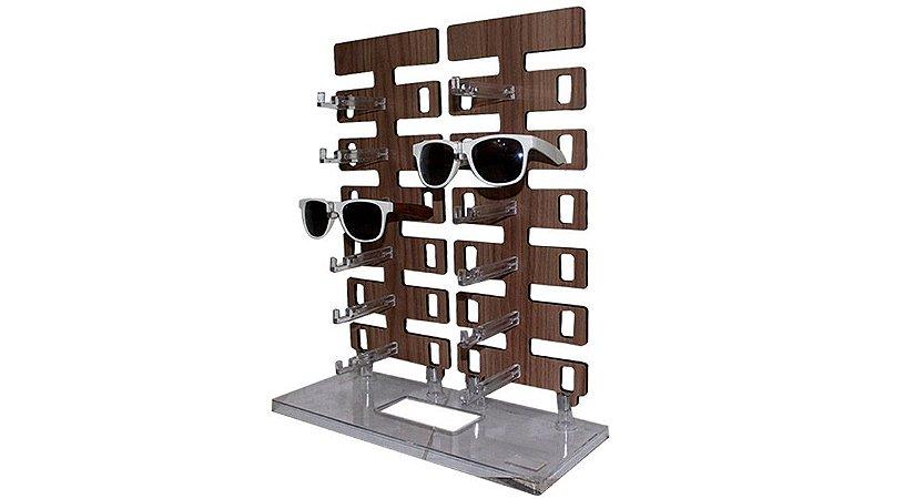 Expositor Torre para 12 Óculos em MDF 12MDF