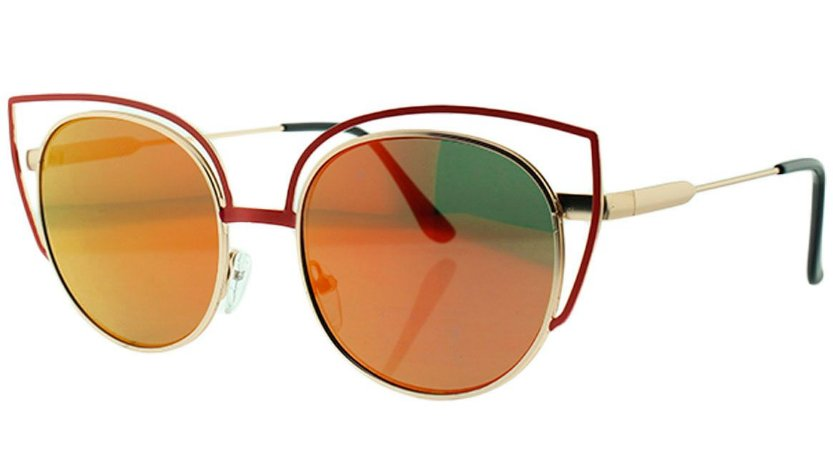 Óculos Solar Feminino Espelhado NY8964