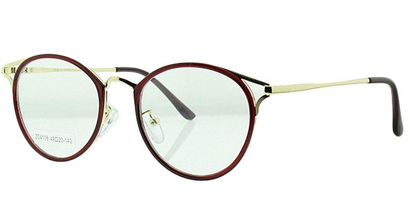 078735fe43ae7 Armação para Óculos de Grau Feminino ZD4108 - Atacado de Óculos ...
