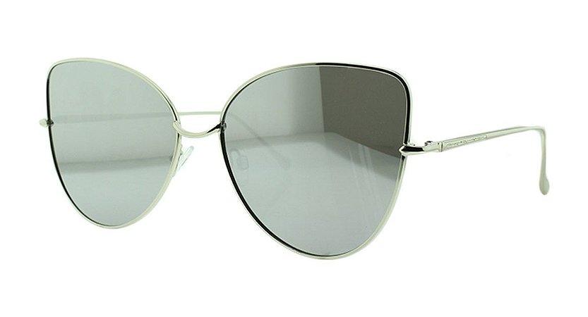 Óculos Solar Feminino Espelhado Primeira Linha NY1010