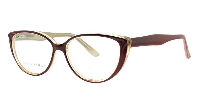 516c97e060ab2 Armação para Óculos de Grau Feminino VC5041 - Atacado de Óculos ...