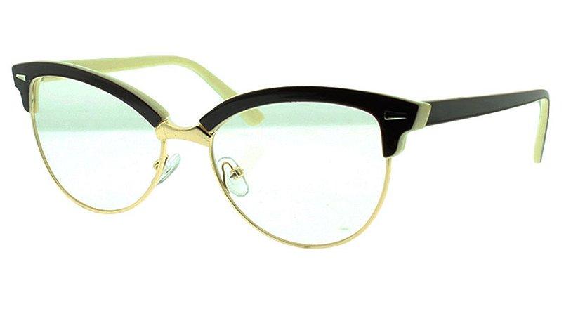3050f5be7427e Armação para Óculos de Grau Feminino 5562 - Atacado de Óculos ...