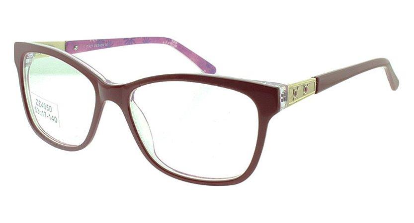 db04ece085737 Armação para Óculos de Grau Feminino ZZ4050 - Atacado de Óculos ...
