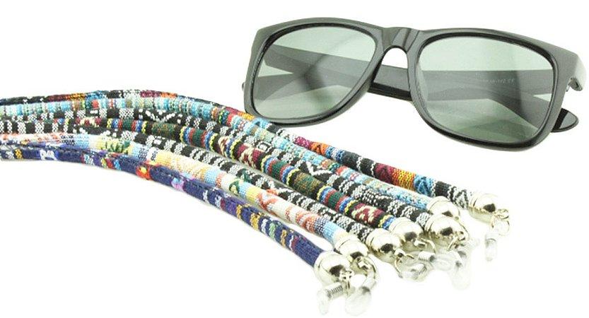 Cordão para Óculos em Tecido Estampado CVT - Unidade