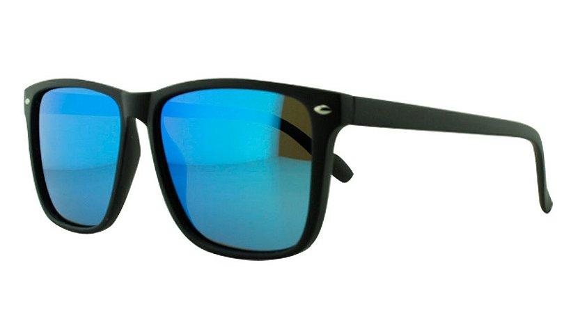 Óculos Solar Masculino 25211 Azul Espelhado