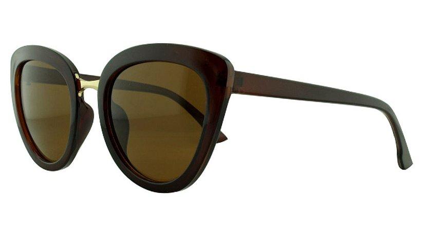 Óculos Solar Feminino AL9784 Marrom