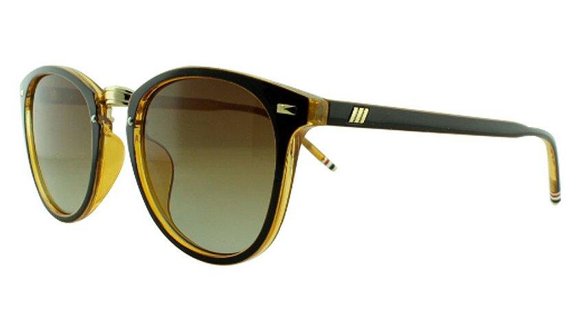 Óculos Solar Unissex Z085 Marrom e Caramelo