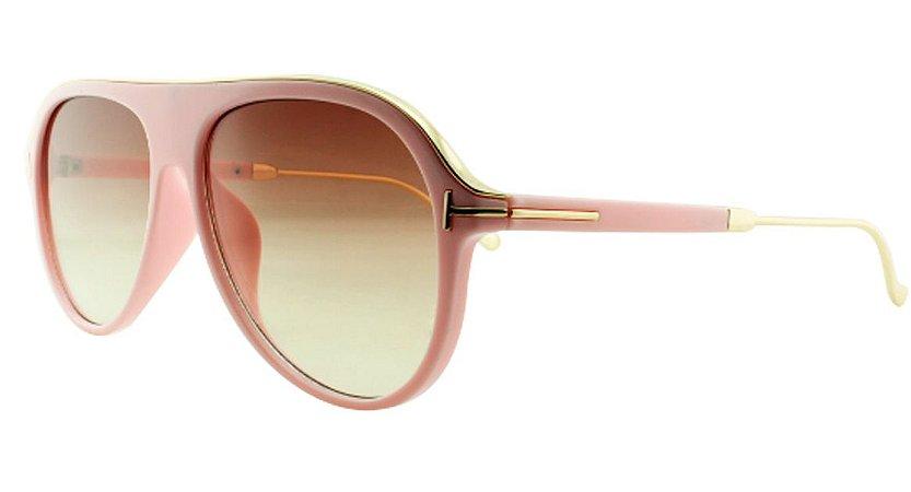 Óculos Solar Unissex Primeira Linha JX8130 Rosa