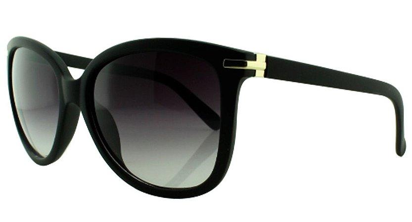 Óculos Solar Feminino 820 Preto Degradê