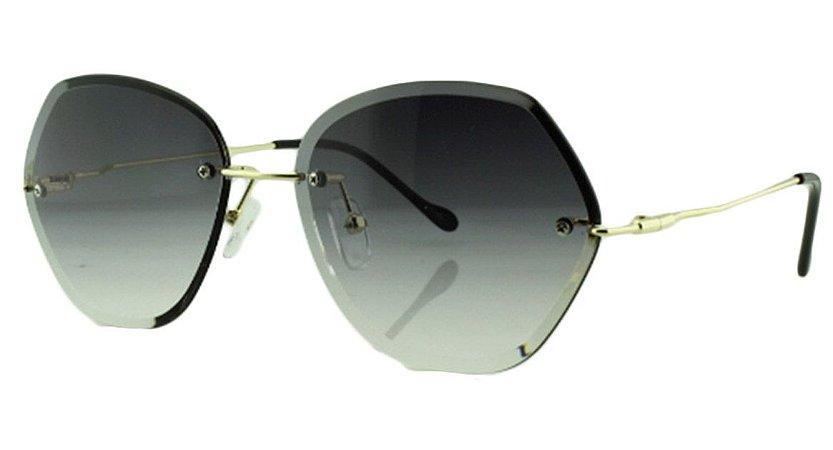 Óculos Solar Feminino Primeira Linha S31173 Preto Degradê