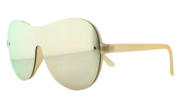 Óculos Solar Unissex AIP8430 Rosa Espelhado