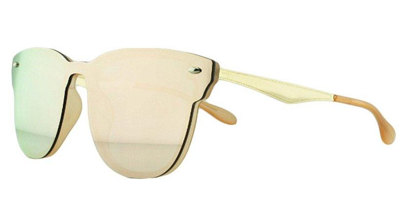 Óculos Solar Unissex Primeira Linha AIP8431 Rosa Espelhado