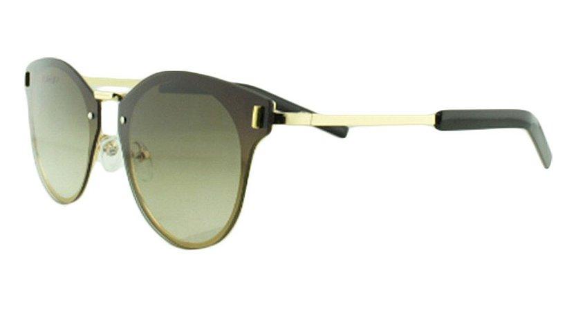 Óculos Solar Unissex Primeira Linha 8136 Verde Degradê