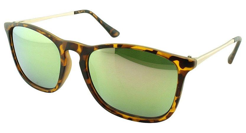 Óculos Solar Unissex VA5836 Rosa Espelhado