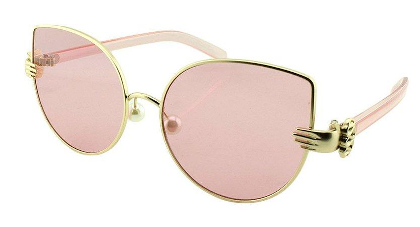 Óculos Solar Feminino Sortido J7052 Rosa