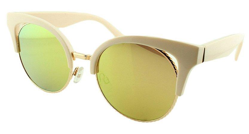 Óculos de Sol Feminino B881340 Rosa Espelhado