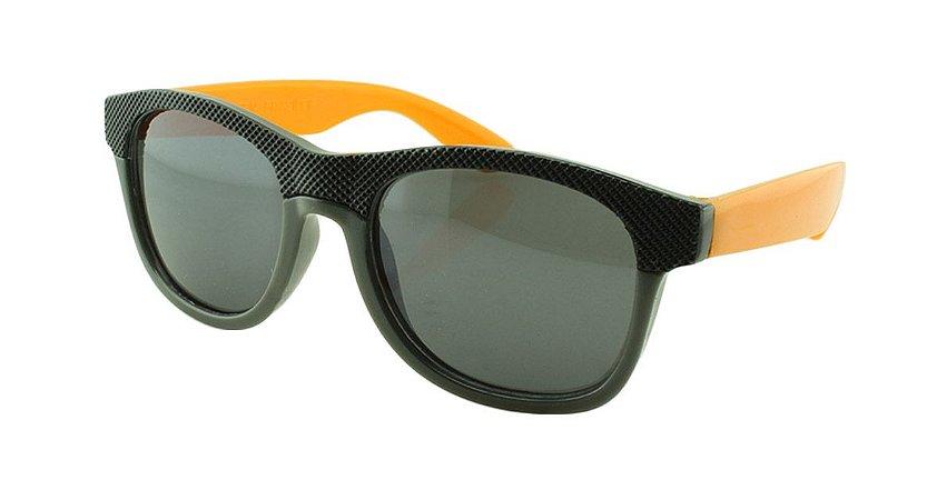 Óculos Solar Infantil MY1630 Preto com Laranja
